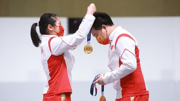 决战东京·战况|姜冉馨庞伟摘金!上海首位东京奥运冠军诞生