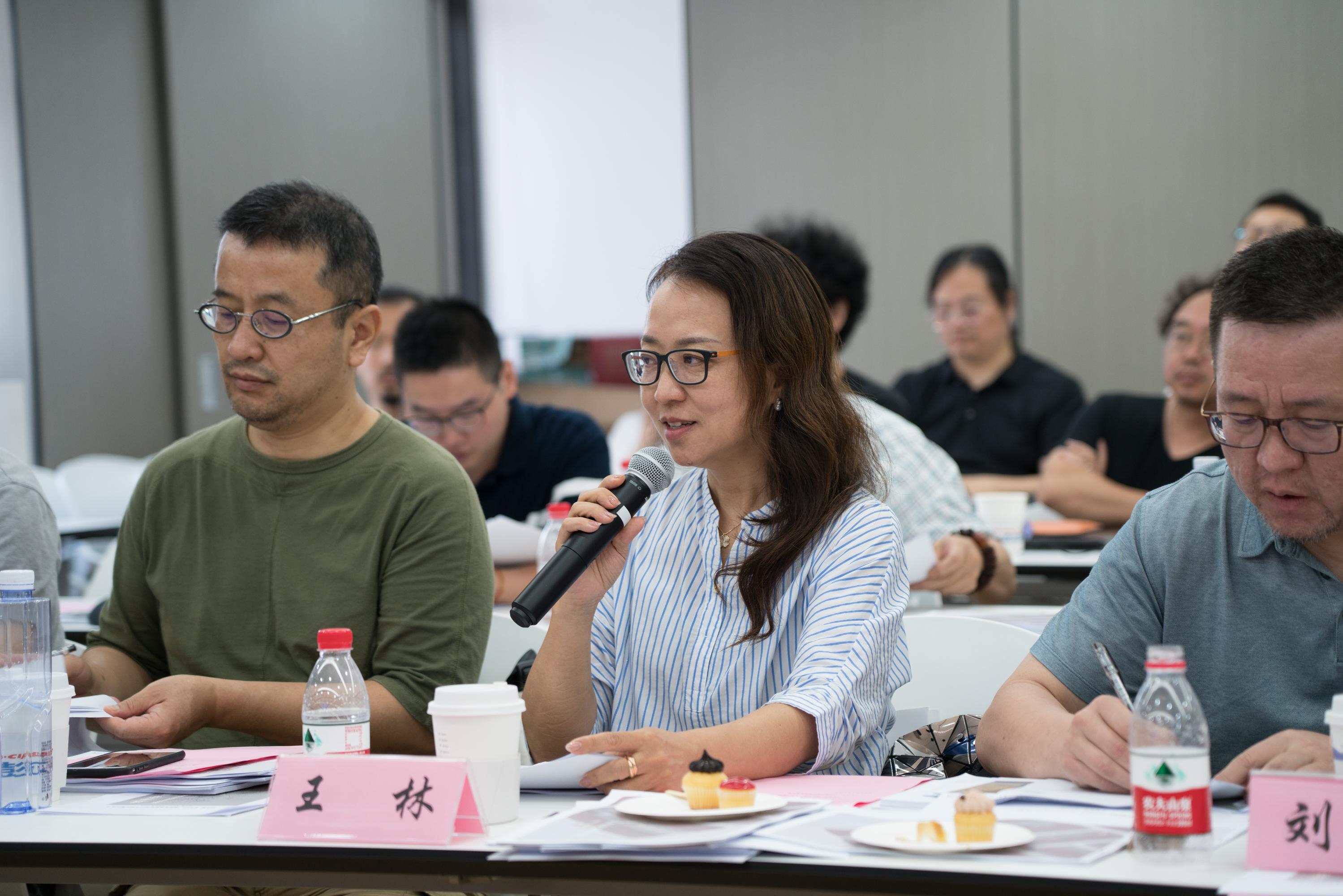 天平街道责任规划师王林在发言中。