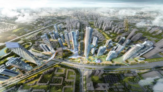 佳兆业中标五和枢纽城市更新项目,引领深圳城市片区综合改造升级