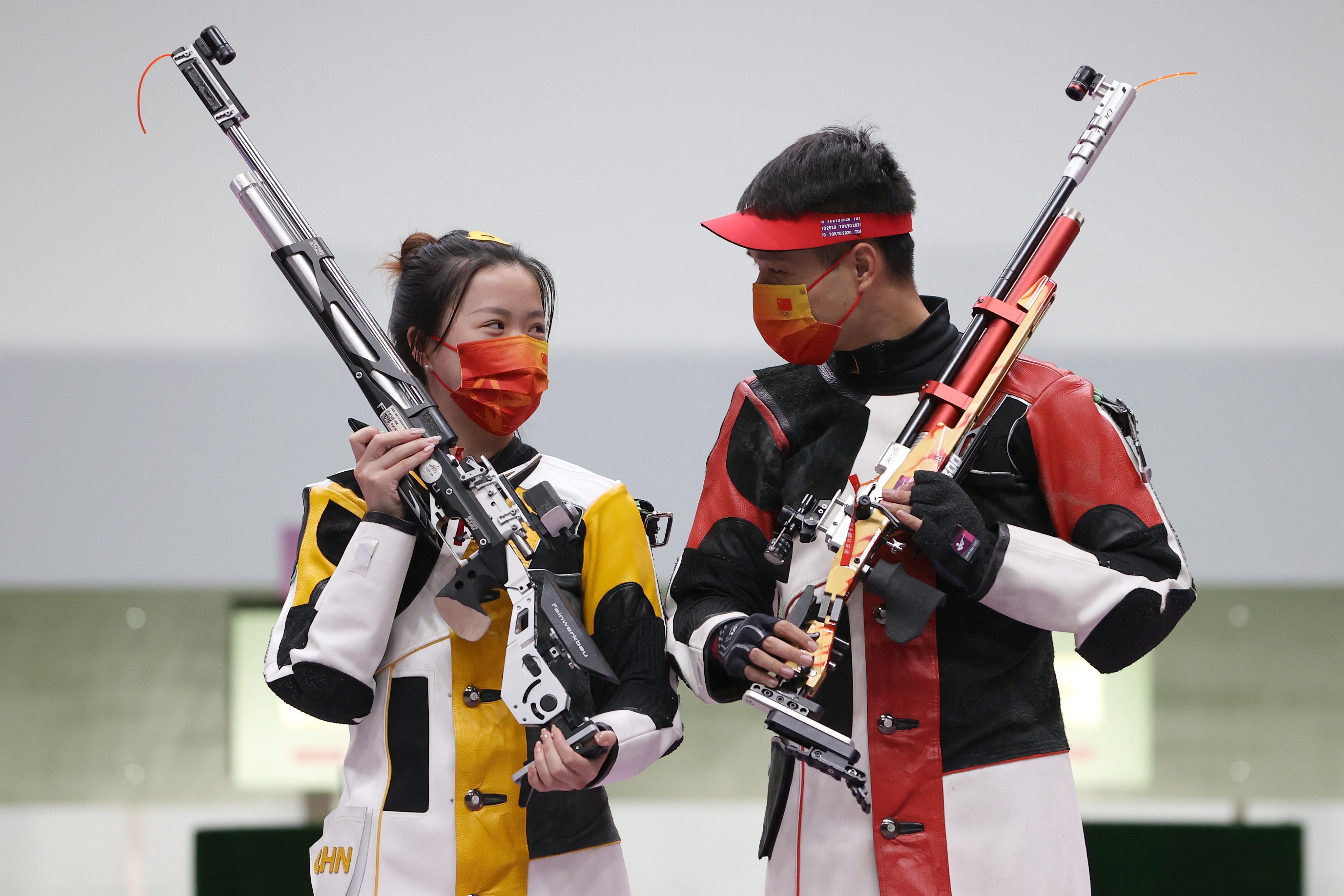 杨倩/杨皓然组合。