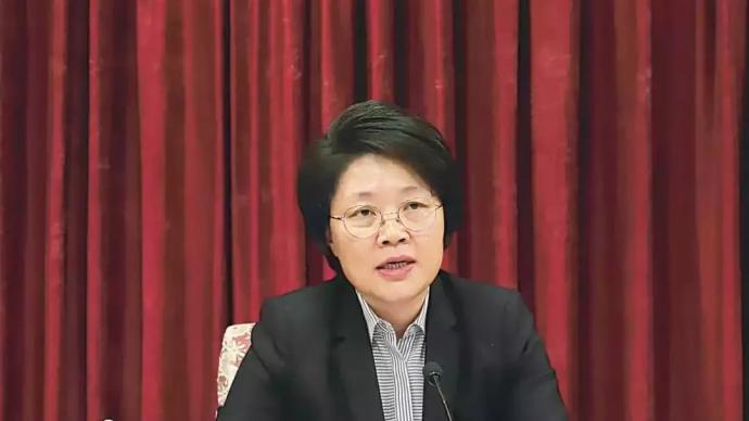 从山东跨省调任甘肃后,女干部张永霞迎来第二个市委书记职务