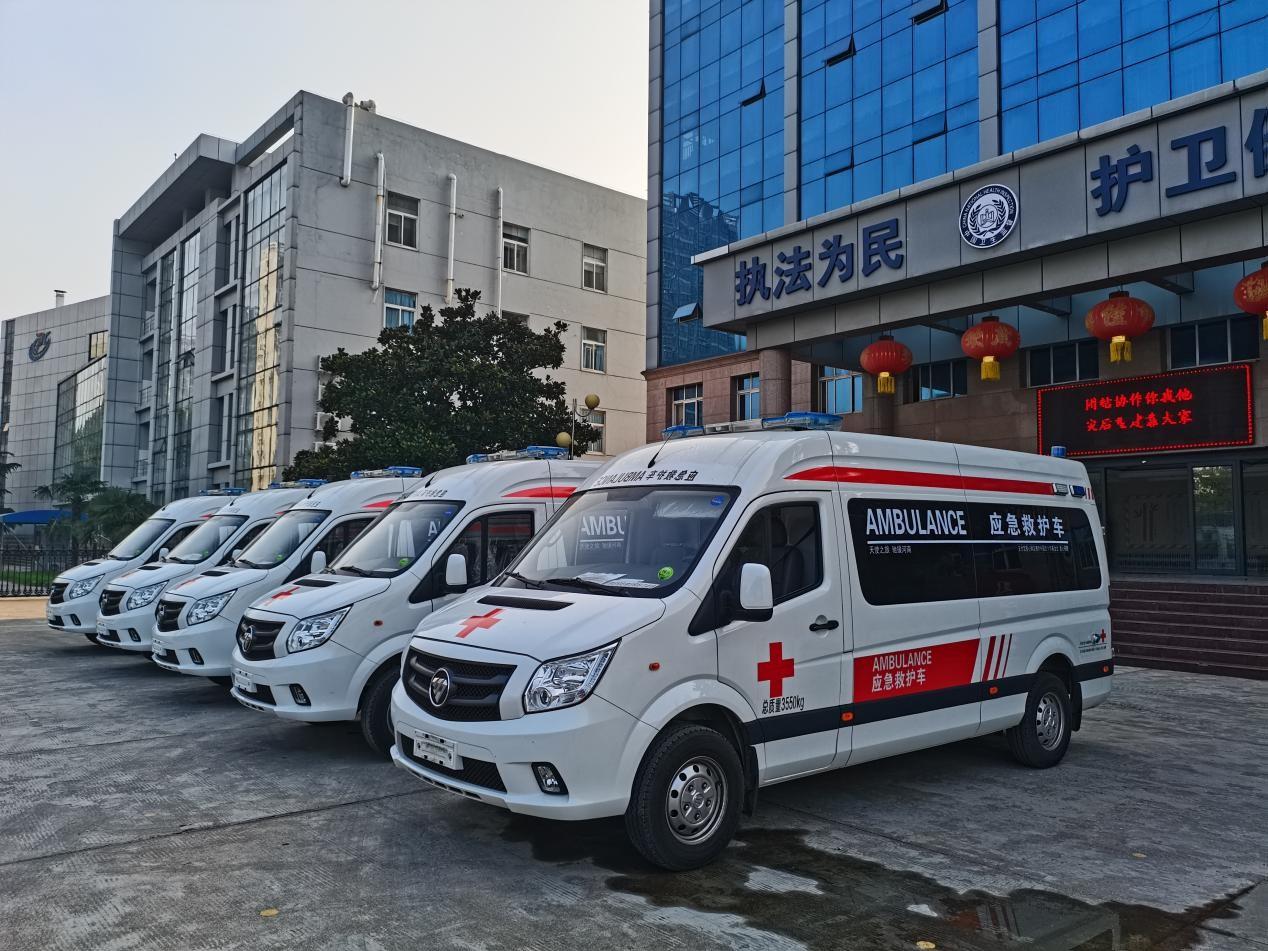 必晟娱乐平台注册:红基会计划捐赠100辆救护车驰援河南,首批10辆已抵新乡