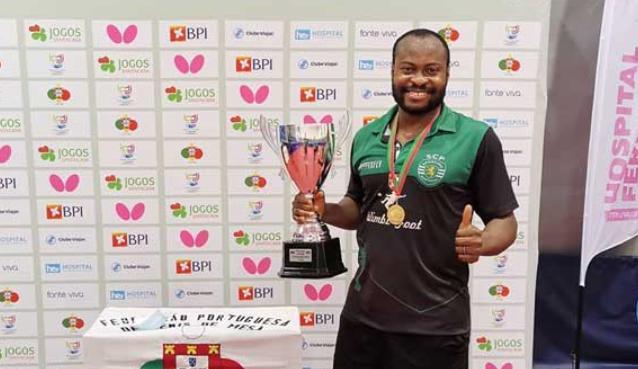 2019-2020赛季阿鲁纳荣获葡萄牙乒乓球联赛冠军。