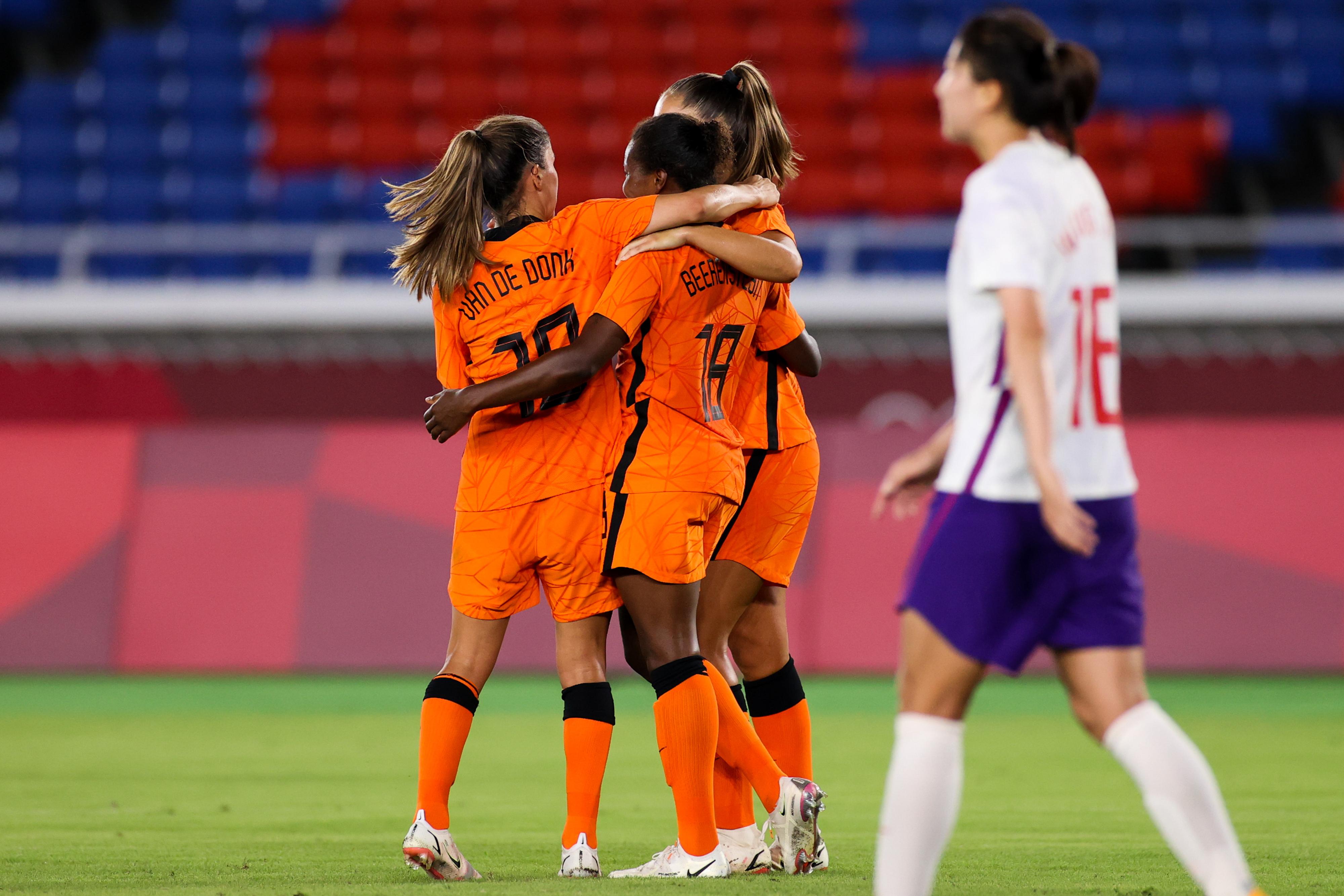 荷兰女足展现了自己的强大。