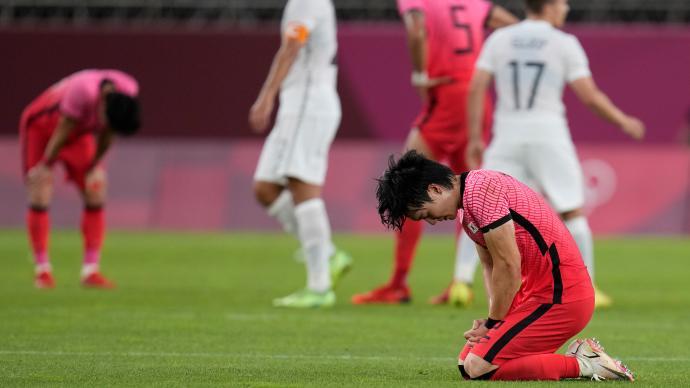 奥运头条丨韩国男足输球拒绝对手握手,国乒混双看淡上上签