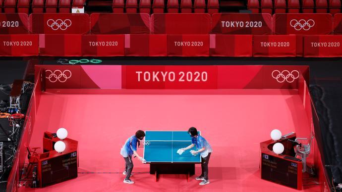 德国队也投诉奥运乒乓场地太小,国际乒联对日本出手了