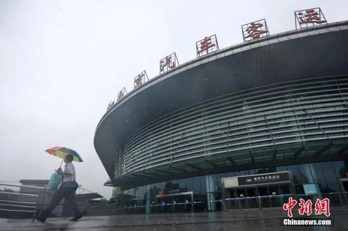 7月27日,南京汽车客运站暂停运营。中新网 图