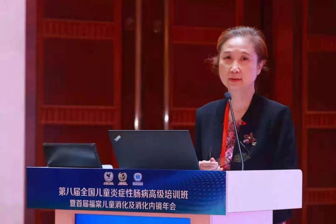 上海瑞金医院儿科主任医师许春娣当时在北京参加第八届全国儿童炎症性肠病高级培训班。 医院供图