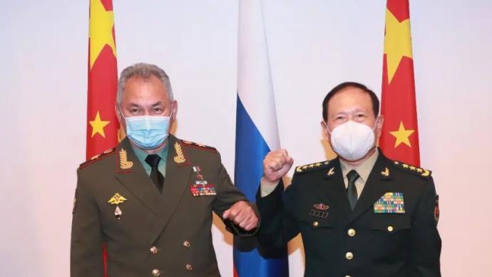 中俄国防部长会谈:应对阿富汗问题双方要沟通立场、增强合作