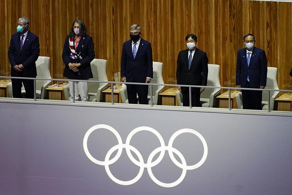 东京奥运会开幕式现场。人民视觉 图