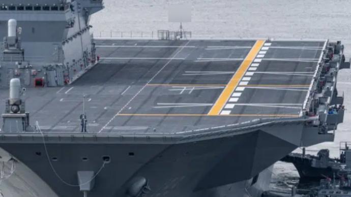 """日本""""出云""""号完成航母化第一阶段改装,如何摆设F-35引关注"""