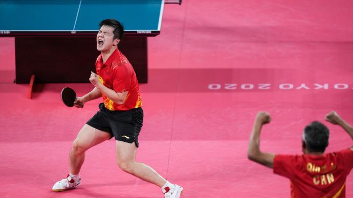 樊振东、马龙会师男单决赛,国乒提前包办男女乒金银牌