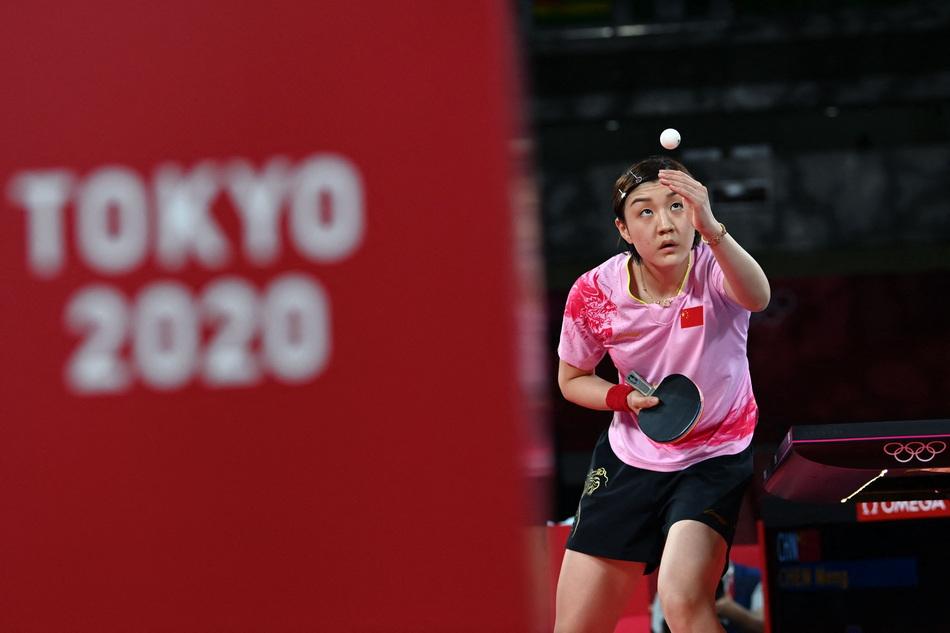 拿下这枚金牌后,陈梦确立了女乒领军人物的地位。