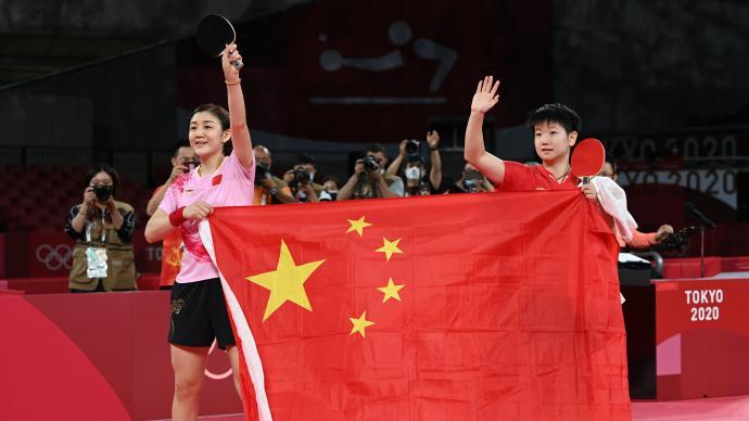 """开启""""梦""""时代!陈梦4-2击败孙颖莎,拿下女单奥运金牌"""