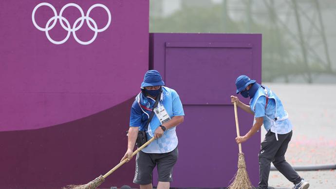 奥运开幕式4000份便当遭丢舍?东京奥组委报歉:志愿者太忙