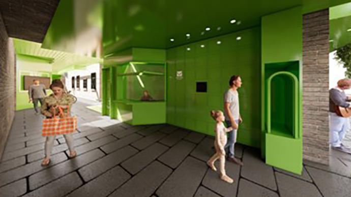 慎成里微更新设计方案展:绿色融入|进弄堂,见初心