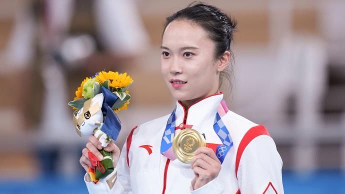 """朱雪莹的""""凡尔赛"""":先拿个奥运冠军,再去多争取世界冠军"""