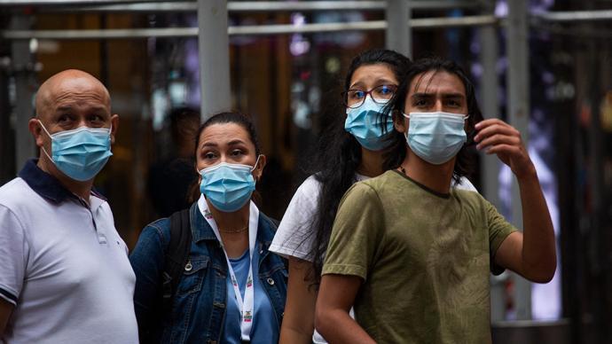 新口罩令实行后美国会警察下令逮捕不戴口罩者,引共和党抗议
