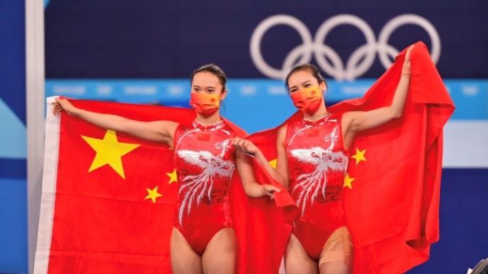 第17金!朱雪莹、刘灵玲包办女子蹦床金银牌