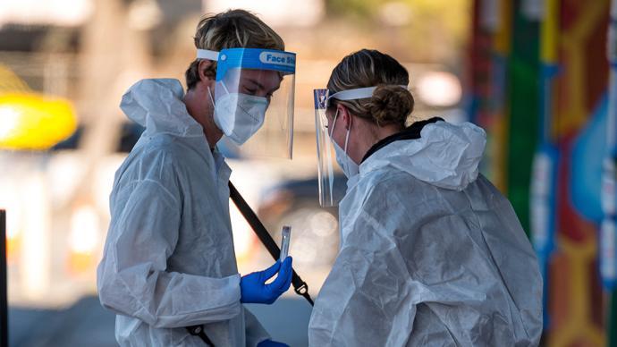 美国:全球疫情扩散国