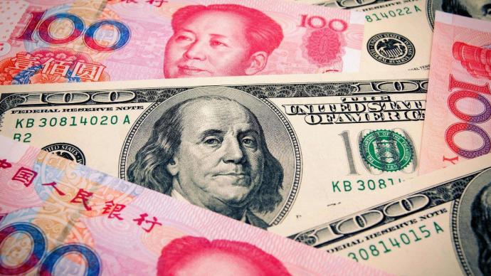 人民币对美元即期汇率7月小幅升值0.08%,后续如何走