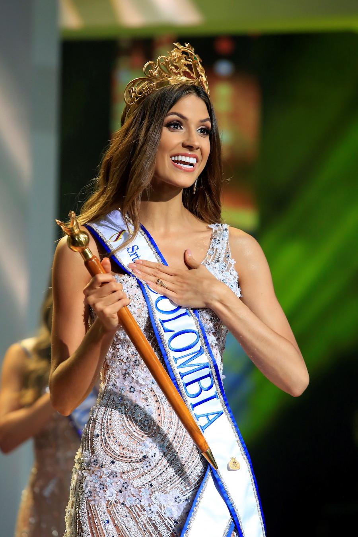 2019哥倫比亞小姐選美大賽落下帷幕,來自考卡山谷省的23歲佳麗Gabriela Tafur Nader獲得冠軍。