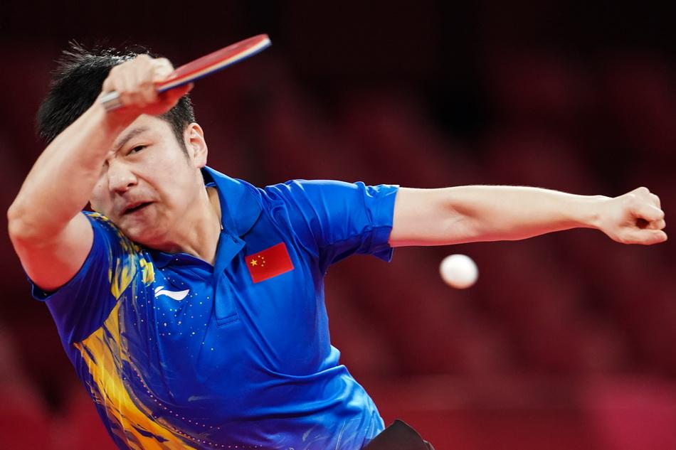 樊振东在决赛中