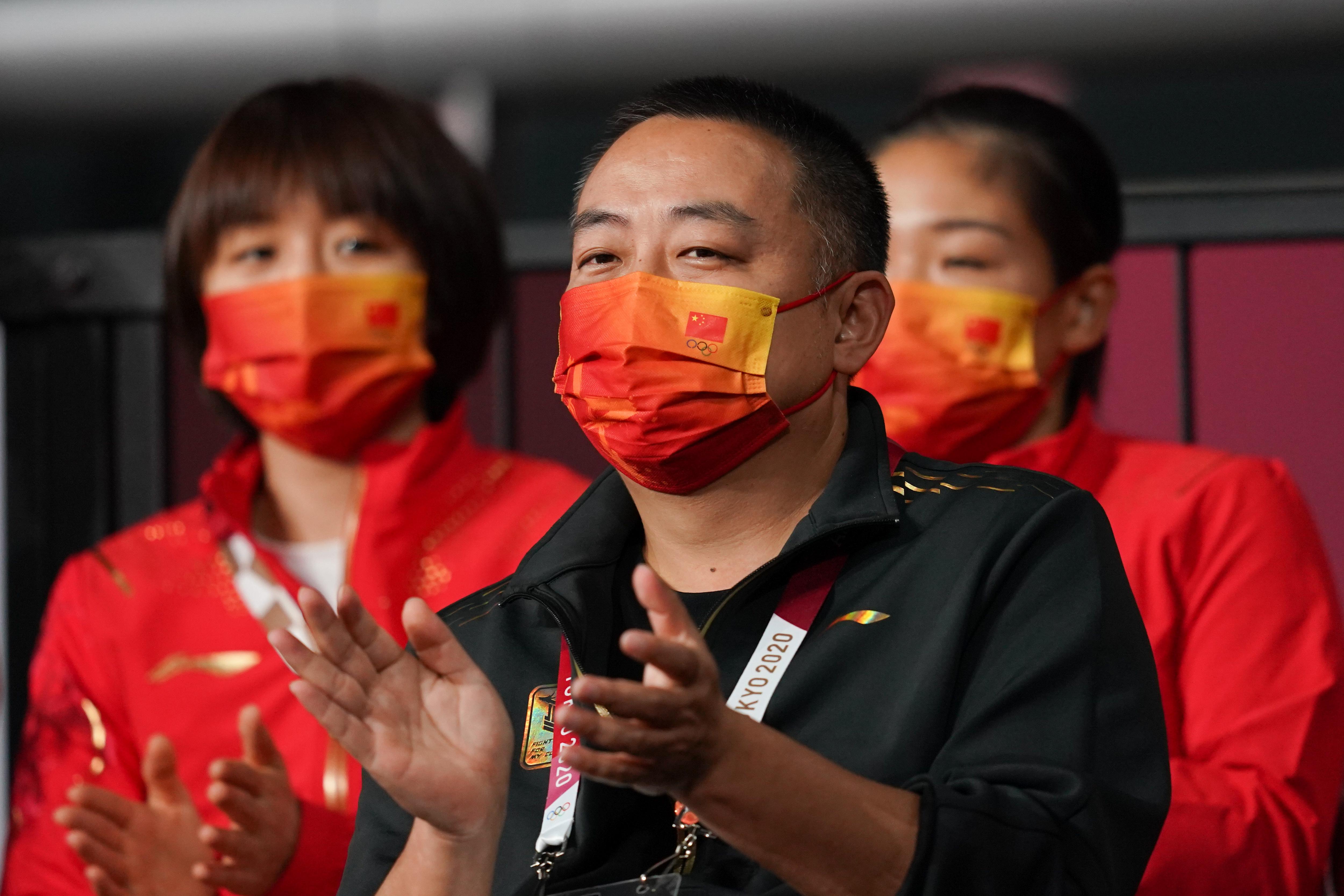 中国乒协主席刘国梁。