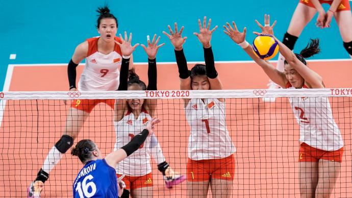 俄罗斯3-0美国,土耳其完胜阿根廷,中国女排提前小组出局