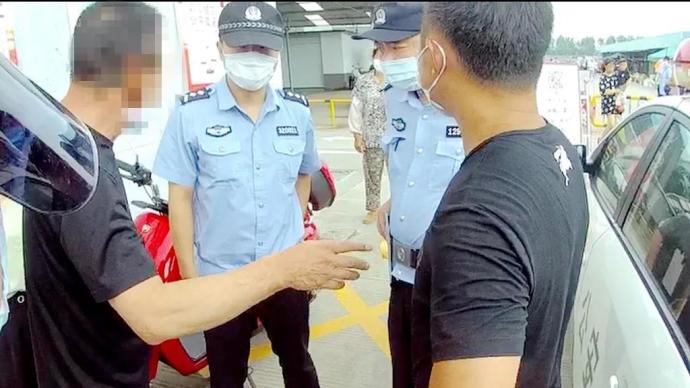 不戴口罩硬闯市场还殴打防疫工作人员,泰州一男子被拘留