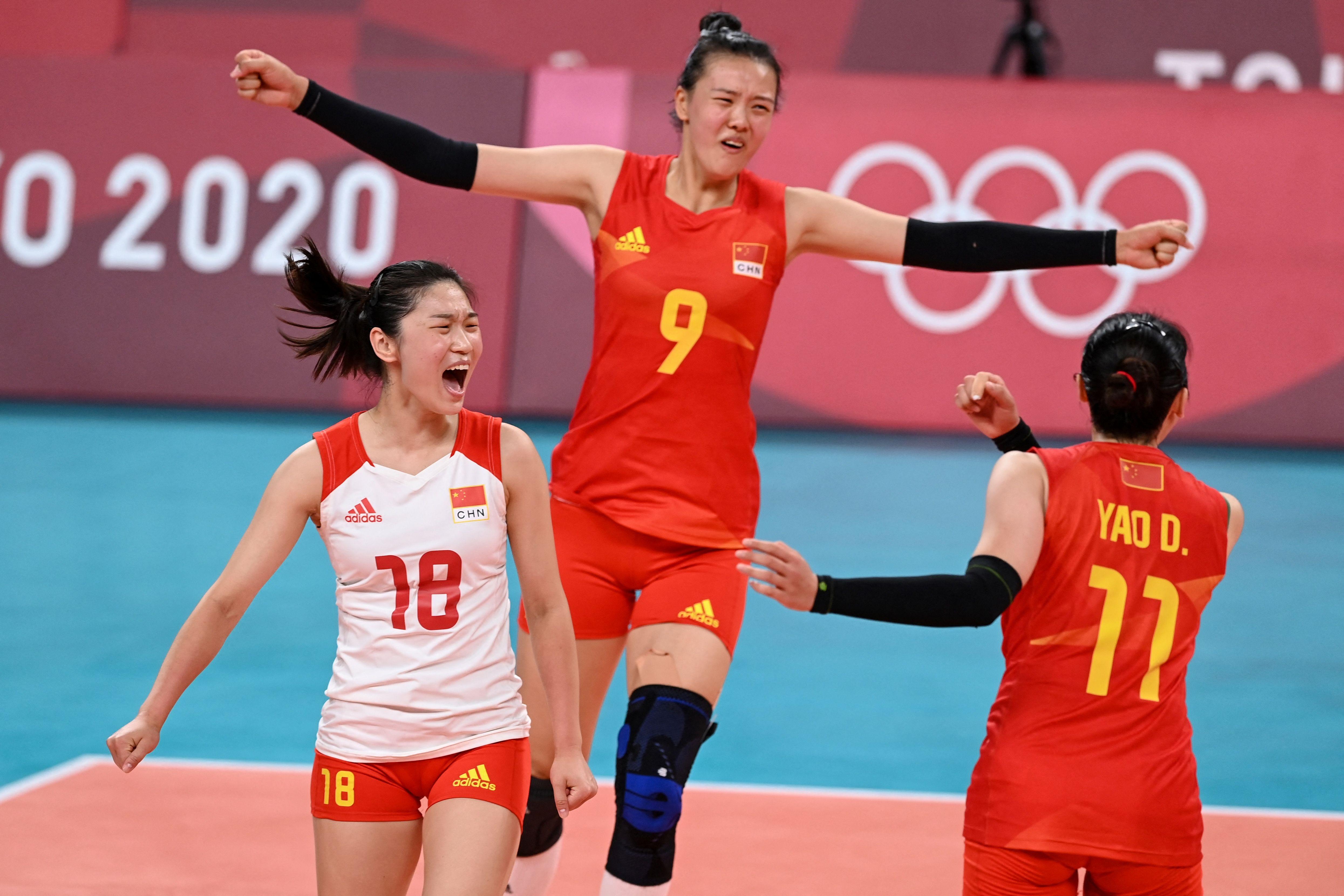 中国女排终于释放了自我。