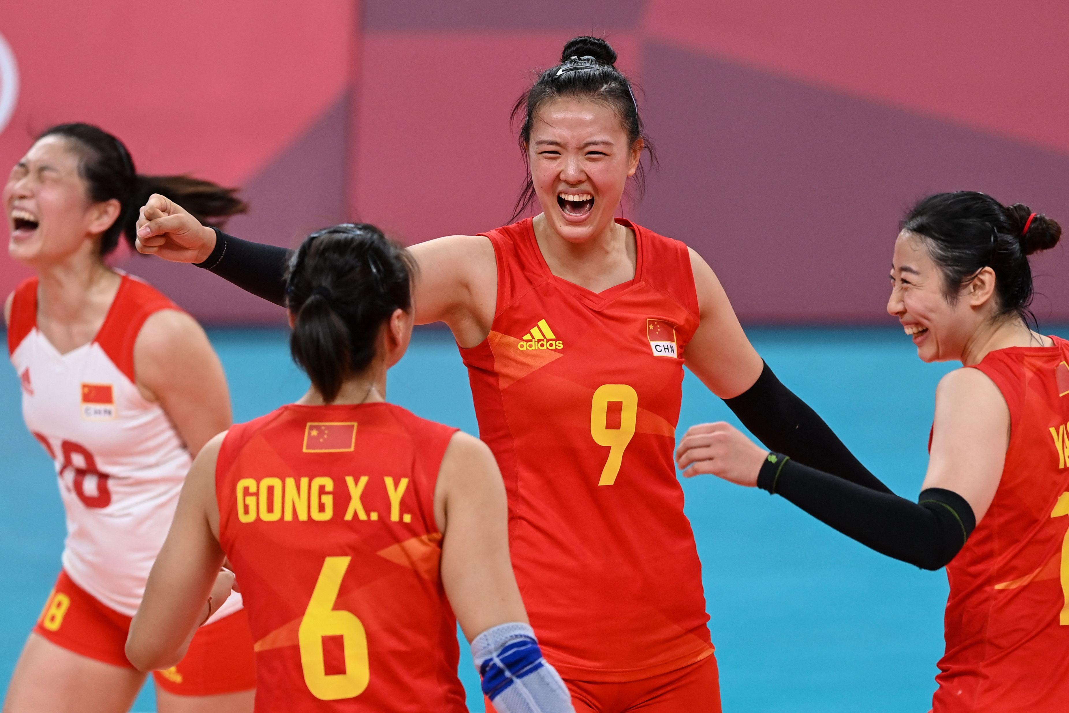 中国女排找回了自我。