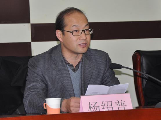 石家庄铁道大学党委书记杨绍普 石家庄铁道大学人事处 图