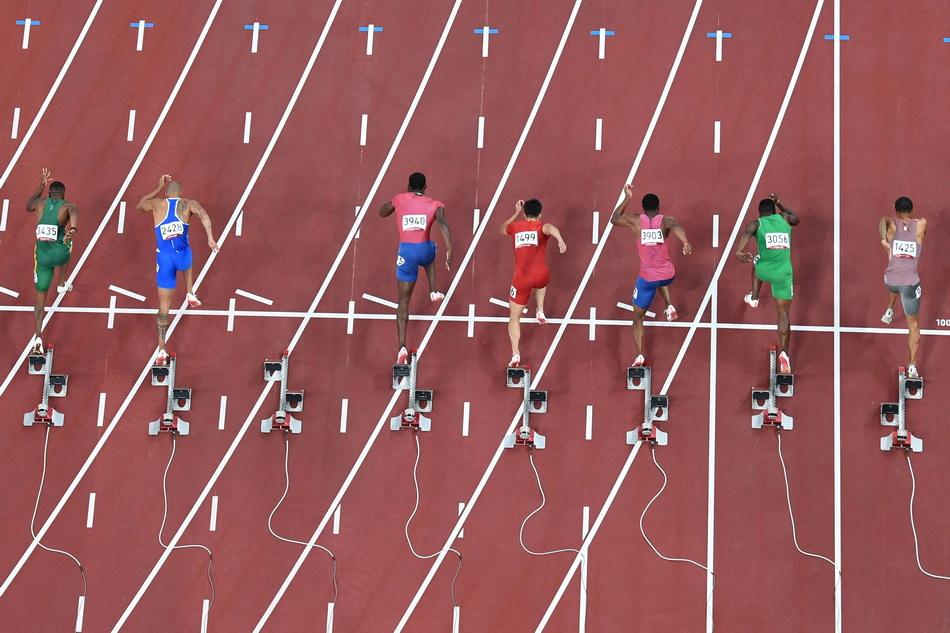 百米决赛重新开跑后,苏炳添的起跑反应时间为0.167秒。