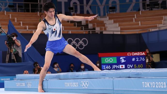 早安·奥运|东道主打分优势?体操男子全能肖若腾可惜摘银
