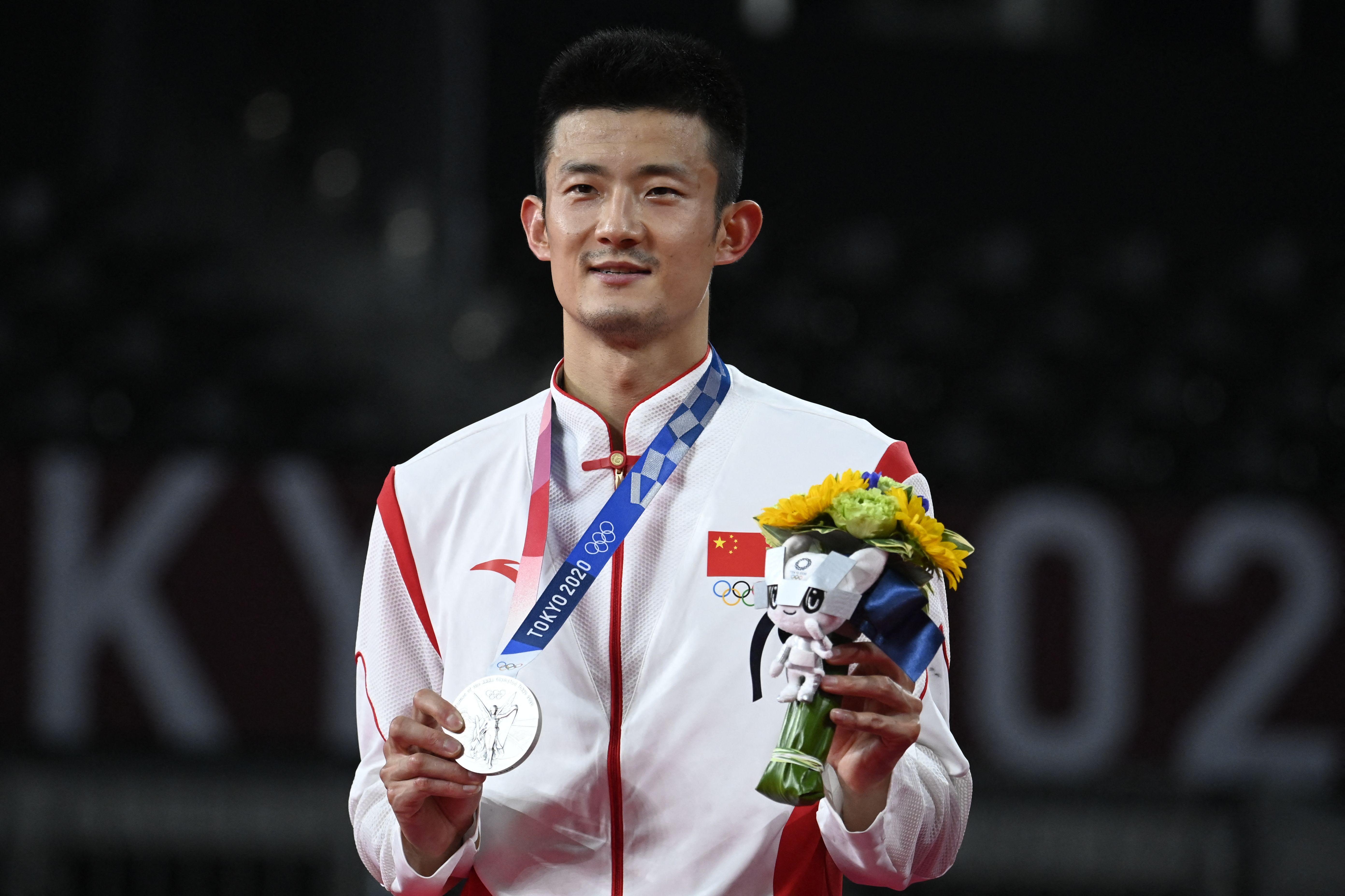 32岁老将谌龙拿下银牌。