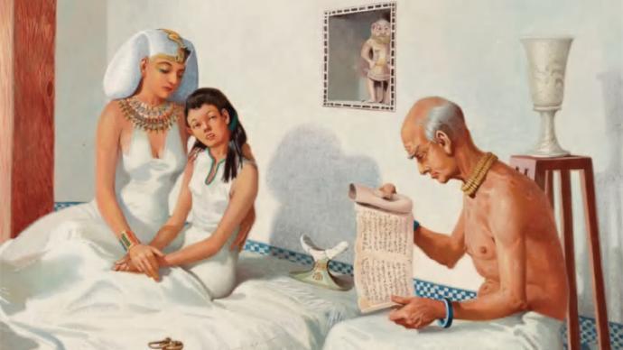 古埃及王朝的医学是如此古怪而恐怖