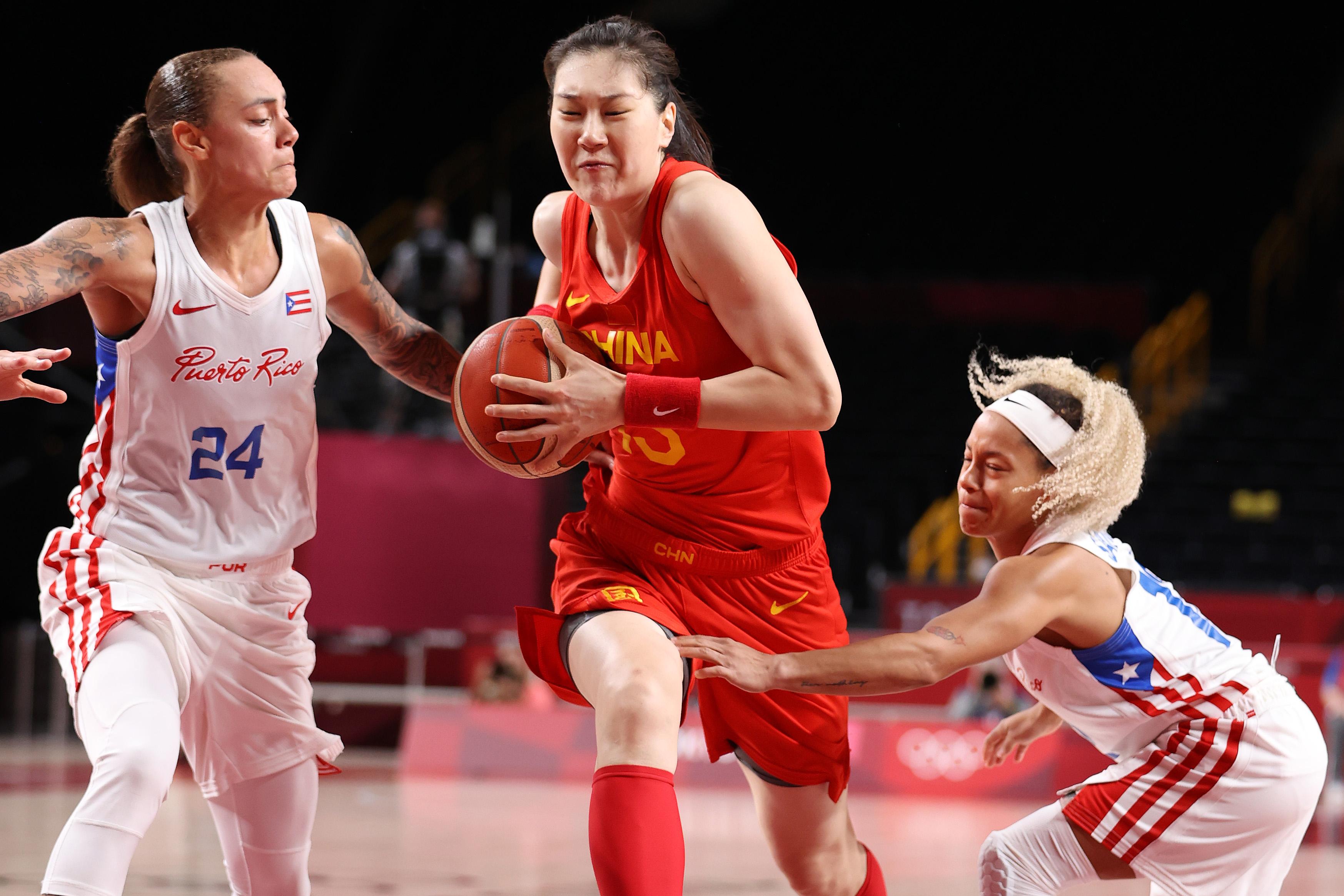 中国女篮本届奥运表现出色。