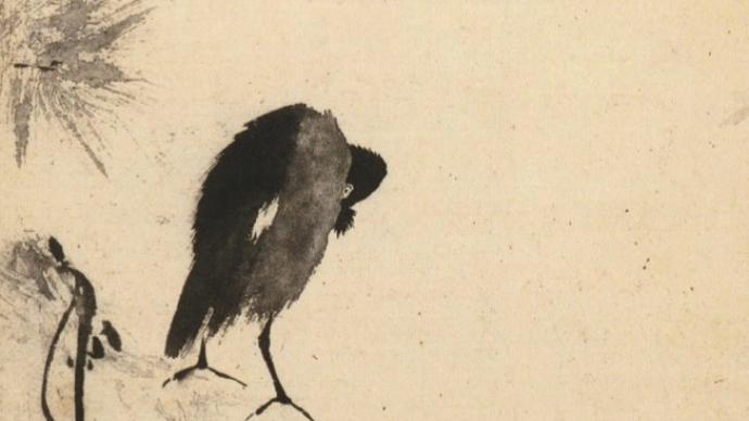 藝術開卷 | 一只頓悟的八哥:《叭叭鳥圖》與禪僧