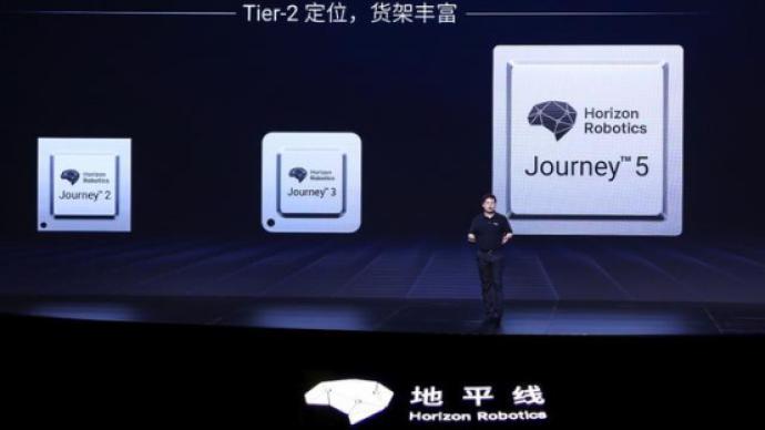 """中国高阶自动驾驶芯片从地平线""""跃出"""""""