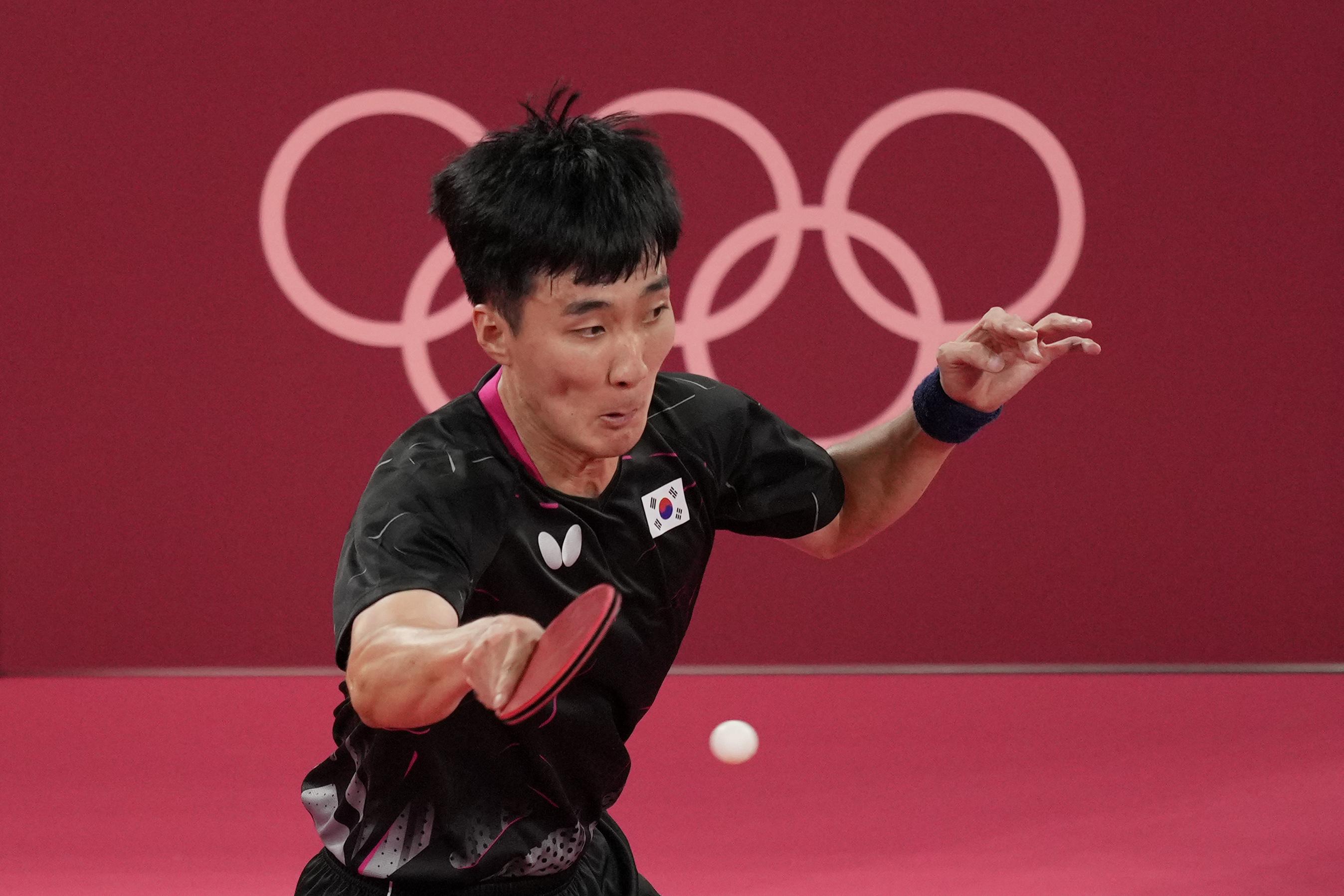韩国选手李尚洙。