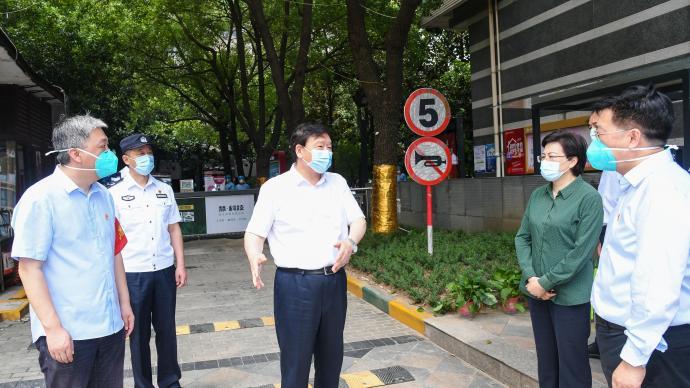 江苏省委书记:南京疫情防控形势正在向好的方向发展