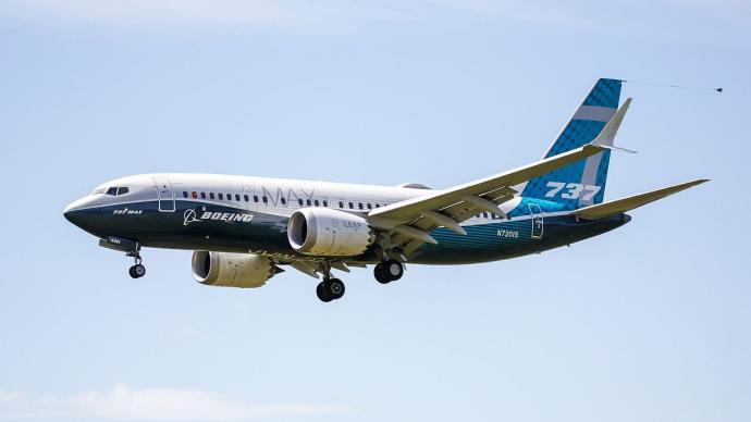 美媒:波音737MAX飞机飞往中国接受试飞检测