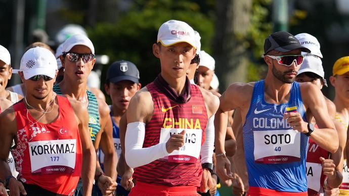 王凯华20公里竞走拿下第7名,他曾因肾结石差点退役