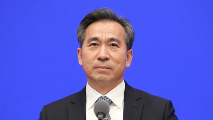 任鸿斌任商务部副部长