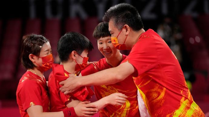 现场|李隼教练:这五年,国乒每天都在担惊受怕