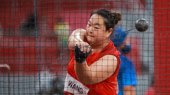 连续四届奥运收获奖牌,中国选手王峥女子链球摘银