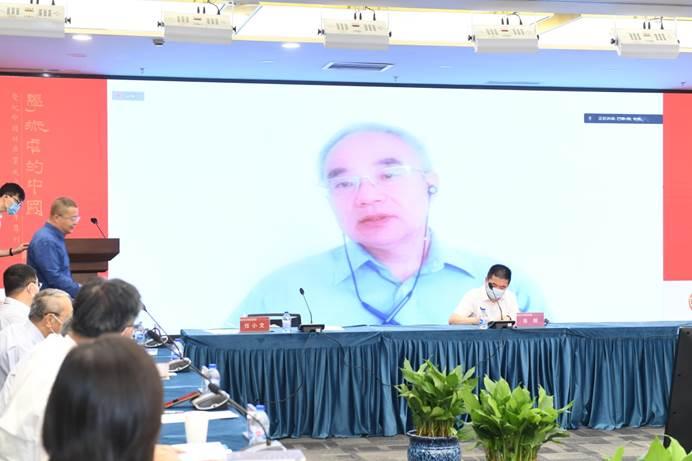 中國期刊協會副會長李軍在線上致辭