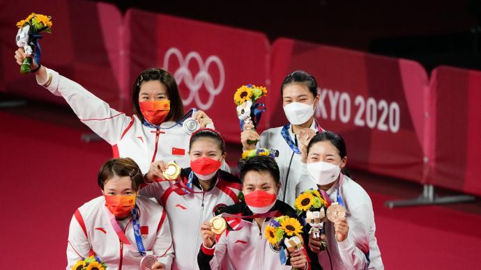 大国大团、文明之师!东京奥运展现中国运动员自信率真亲和