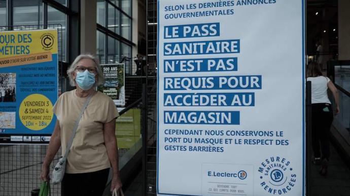 """當防疫立法遭遇違憲審查:法國""""健康通行證""""的爭議與取舍"""